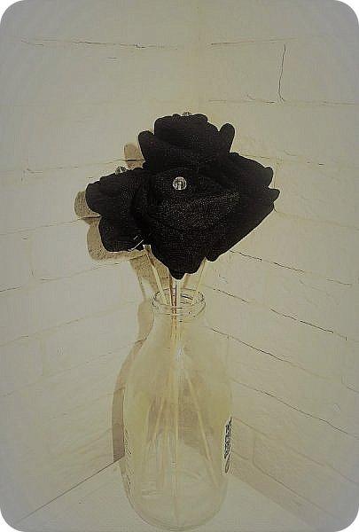 Роза из носка фото 9