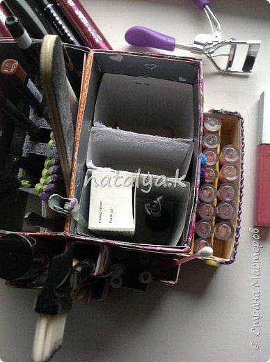 Мой органайзер для косметики (самый недавний)  фото 6