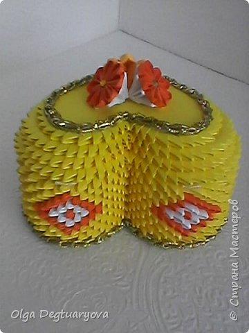 Решила сделать шкатулки, использовав цвета радуги. фото 12