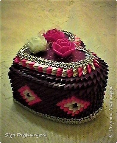 Решила сделать шкатулки, использовав цвета радуги. фото 17