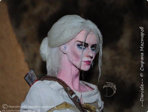 """Охохох, из компьютерной игры """"Ведьмак 3: Дикая Охота"""" решила сделать Цири, юную ведьмачку...  фото 16"""
