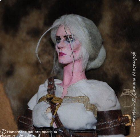 """Охохох, из компьютерной игры """"Ведьмак 3: Дикая Охота"""" решила сделать Цири, юную ведьмачку...  фото 18"""