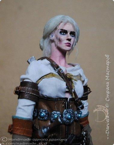 """Охохох, из компьютерной игры """"Ведьмак 3: Дикая Охота"""" решила сделать Цири, юную ведьмачку...  фото 28"""