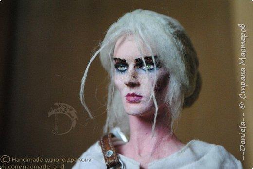 """Охохох, из компьютерной игры """"Ведьмак 3: Дикая Охота"""" решила сделать Цири, юную ведьмачку...  фото 36"""
