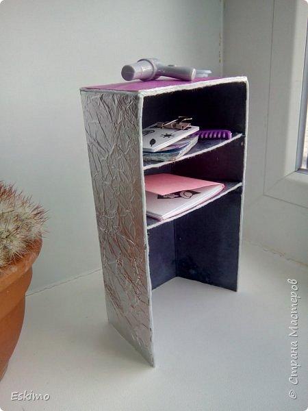 Всем привет! Фух, наконец-то я закончила мебель для румбокса, который мелькал в недавних моих блогах. А Нэсси и Мира сейчас вам её продемонстрируют) фото 3