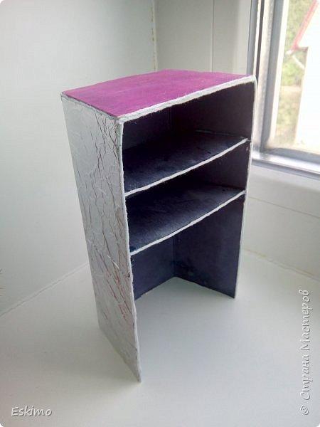 Всем привет! Фух, наконец-то я закончила мебель для румбокса, который мелькал в недавних моих блогах. А Нэсси и Мира сейчас вам её продемонстрируют) фото 4