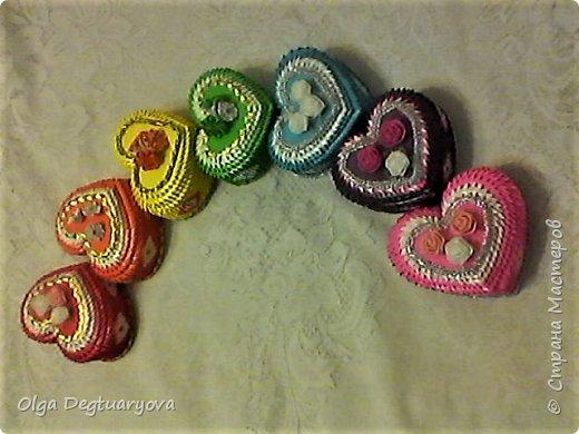 Решила сделать шкатулки, использовав цвета радуги. фото 1