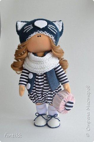 Мое новое увлечение-текстильные интерьерные куклы. Эти работы были выполнены во время марафона Елены Гурылевой. одна из девочек заняла 6  призовое место среди 250 участниц. Процесс очень увлекательный!!!! Присоединяйтесь в этот чудесный мир кукол! фото 7