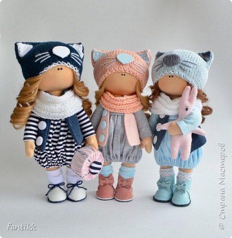 Мое новое увлечение-текстильные интерьерные куклы. Эти работы были выполнены во время марафона Елены Гурылевой. одна из девочек заняла 6  призовое место среди 250 участниц. Процесс очень увлекательный!!!! Присоединяйтесь в этот чудесный мир кукол! фото 2