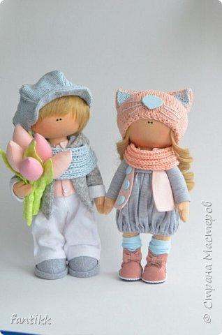 Мое новое увлечение-текстильные интерьерные куклы. Эти работы были выполнены во время марафона Елены Гурылевой. одна из девочек заняла 6  призовое место среди 250 участниц. Процесс очень увлекательный!!!! Присоединяйтесь в этот чудесный мир кукол! фото 8
