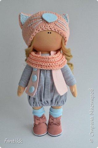 Мое новое увлечение-текстильные интерьерные куклы. Эти работы были выполнены во время марафона Елены Гурылевой. одна из девочек заняла 6  призовое место среди 250 участниц. Процесс очень увлекательный!!!! Присоединяйтесь в этот чудесный мир кукол! фото 10
