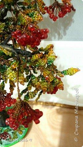 Осенняя рябина( моя любимая и самая трудоемкая) 40 см фото 2