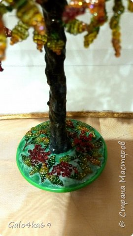 Осенняя рябина( моя любимая и самая трудоемкая) 40 см фото 3