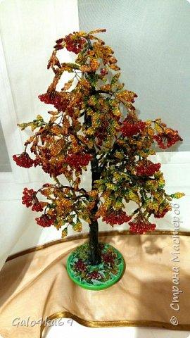 Осенняя рябина( моя любимая и самая трудоемкая) 40 см фото 1