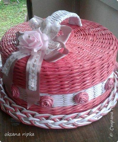 подарочная упаковка для тортика