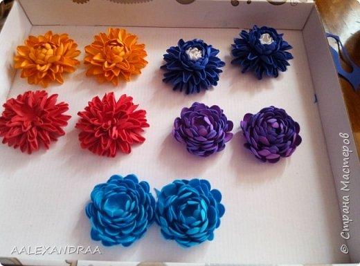 Цветочные Заколочки,резинки фото 5