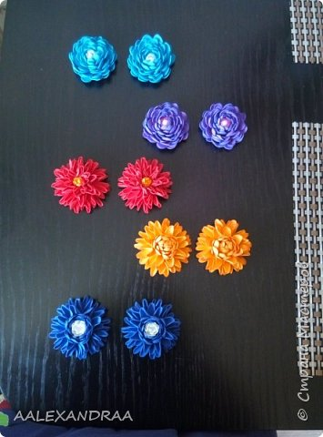 Цветочные Заколочки,резинки фото 6