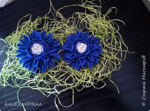 Цветочные Заколочки,резинки фото 10