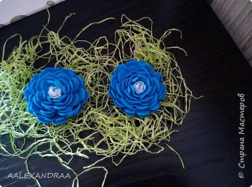 Цветочные Заколочки,резинки фото 9