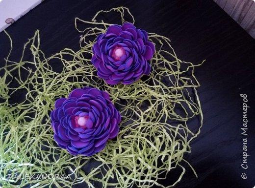 Цветочные Заколочки,резинки фото 8