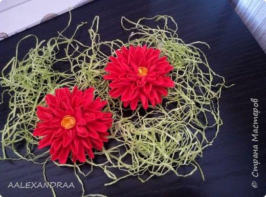 Цветочные Заколочки,резинки фото 7