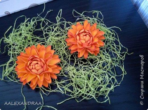Цветочные Заколочки,резинки фото 11