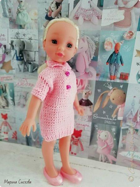 А я продолжаю наряжать дочкиных кукол ))) фото 3