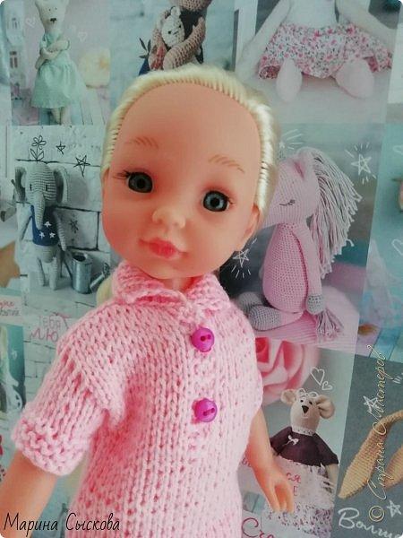 А я продолжаю наряжать дочкиных кукол ))) фото 1