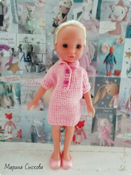 А я продолжаю наряжать дочкиных кукол ))) фото 2