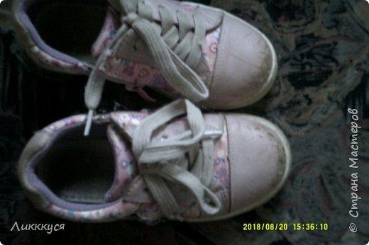 ребенок в первые же дни сбил носы у обуви. Как-то в интернете видела как реставрируют обувь. Решила попробовать  фото 2