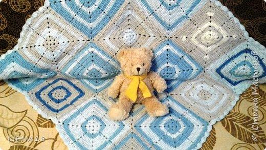 Детский плед в подарок и салфетка на стол. фото 1