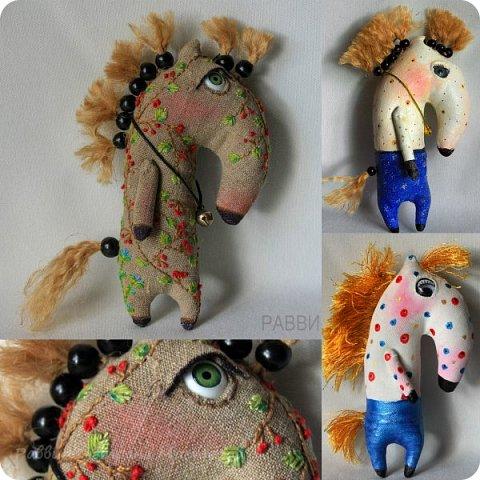 Не совсем кони, не совсем в яблоках! Скорее пони и в рябине, но ведь пони-тоже кони?) Высота лошадки 6 см. фото 6