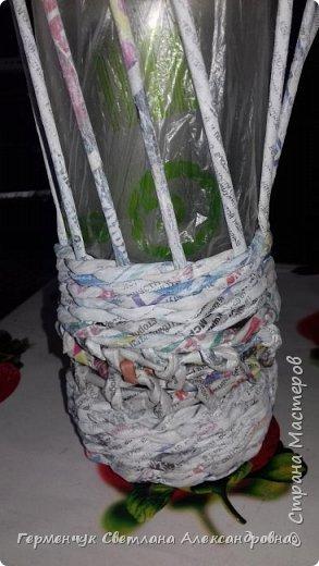 Добрый вечер  СМ!!!   На просторах Интернета увидела  декоративную бутылку и решила повторить. фото 6