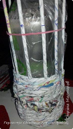 Добрый вечер  СМ!!!   На просторах Интернета увидела  декоративную бутылку и решила повторить. фото 7