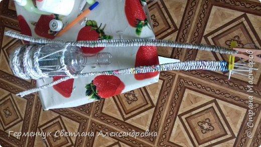 Добрый вечер  СМ!!!   На просторах Интернета увидела  декоративную бутылку и решила повторить. фото 11