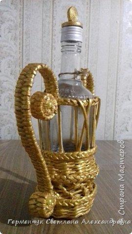 Добрый вечер  СМ!!!   На просторах Интернета увидела  декоративную бутылку и решила повторить. фото 21