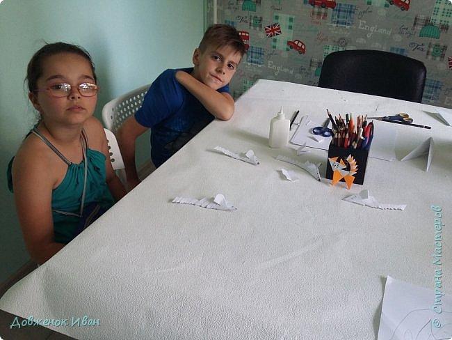 Провёл очередной мастер-класс для детей . Сделал сам вот такую мышку по мк Натальи Владимировны Хоменко - https://stranamasterov.ru/node/787956  фото 4