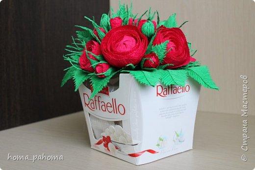 Украшение коробочки конфет фото 2