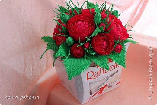 Украшение коробочки конфет фото 12