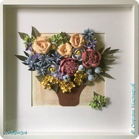 В подарок подруге букет садовых цветов :) фото 3