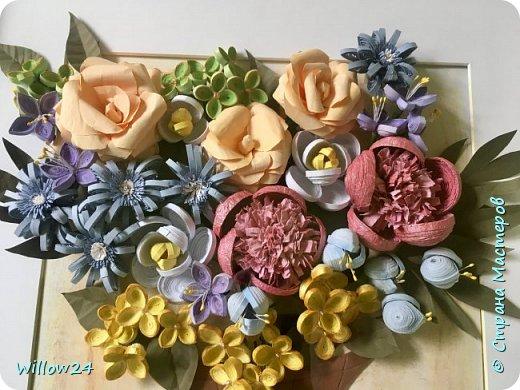 В подарок подруге букет садовых цветов :) фото 2