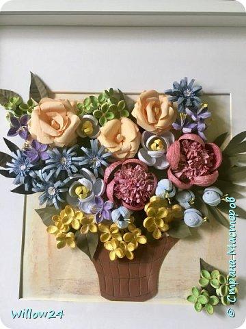 В подарок подруге букет садовых цветов :) фото 1