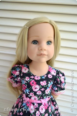 Новое платье для куколки 45-55 см  фото 1
