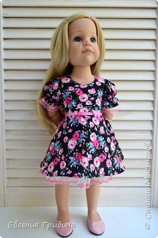 Новое платье для куколки 45-55 см  фото 2