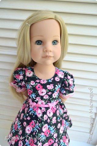 Новое платье для куколки 45-55 см  фото 3
