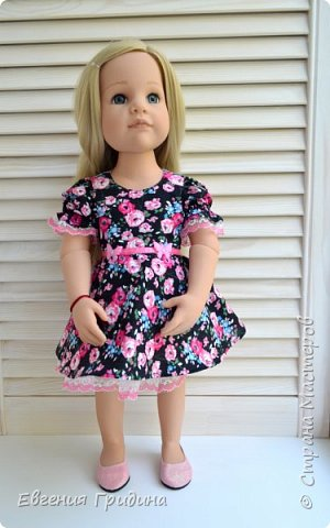 Новое платье для куколки 45-55 см  фото 4