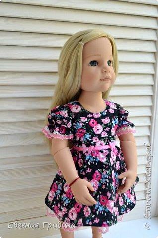 Новое платье для куколки 45-55 см  фото 6