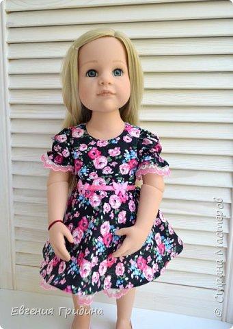 Новое платье для куколки 45-55 см  фото 7