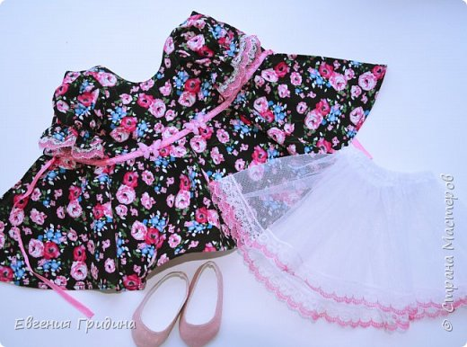 Новое платье для куколки 45-55 см  фото 9