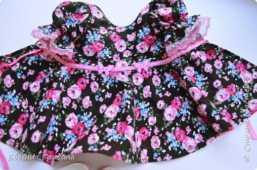 Новое платье для куколки 45-55 см  фото 10
